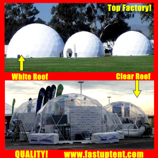 Good Quality Clear Diameter 6m Geodesic Dome Tent for Wedding