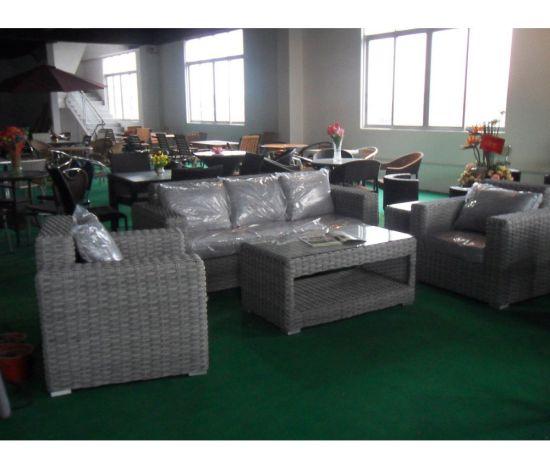 Wicker Outdoor Furniture Rattan Corner Sofa Furniture