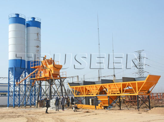 Top Quality Hzs35 Small Concrete Batching Plant Manufacturer pictures & photos
