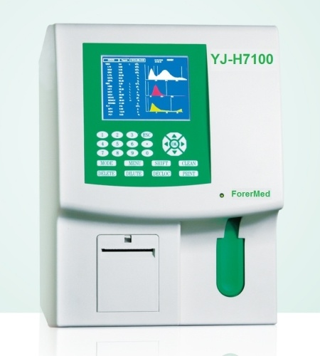 Biological Diagnostics Medical Blood 3-Part Hematology Analyzer (YJ-H7100) pictures & photos