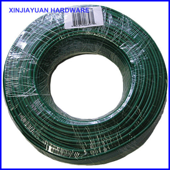 China UV Treated Coating Soft and Pliable PVC Coated Tie Wire Garden ...