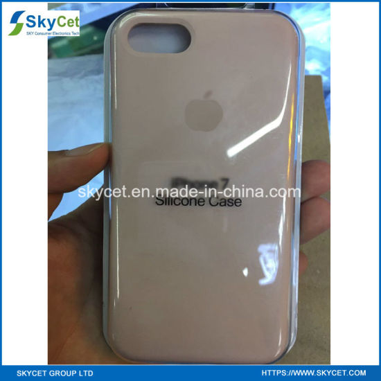 Original Mobile Phone Silicone Case for Apple iPhone 8/8 Plus/X Silicone Cases pictures & photos