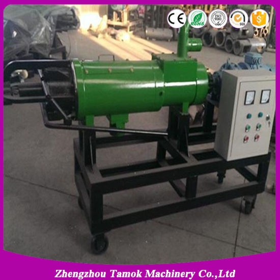 Top Quality Cow Dung Dewatering Machine Animal Dung Sludge Extruder pictures & photos