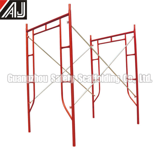 (HF1930) Guangzhou Manufacturer All-Around Frame Scaffolding for Building Construction pictures & photos