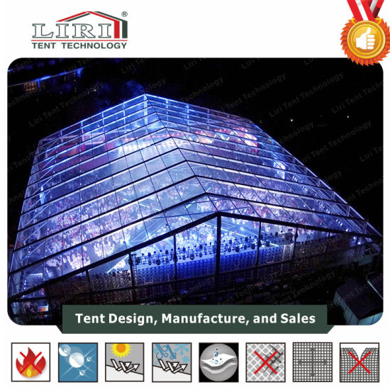 50X50m Large Concert Marquee Music Festival Tents with Transparent Cover for Sale & China 50X50m Large Concert Marquee Music Festival Tents with ...