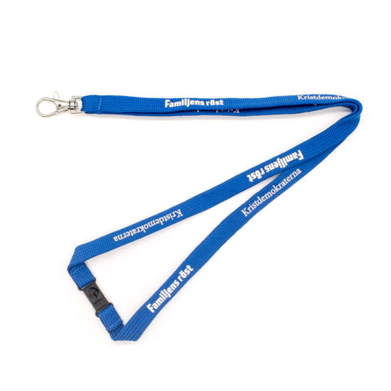 Wholesale Personal Design Stain Woven Lanyard Jean Making Supplies Malaysia pictures & photos