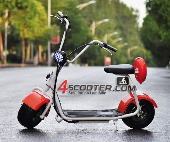 1000W Adult Electric Scooter 2 Wheels Light Electric Citycoco with Big Wheel