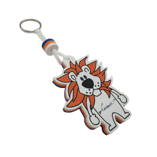 Promotion EVA Floating Rubber Key Ring Tag for Gifts (KC-E02-B)