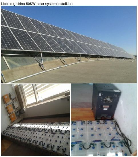 Big Capacity Generator Pure Sine Wave 20kw Hybrid Solar Inverter pictures & photos