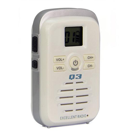 Mini Handheld Radio UHF Walkie Talkie Q3