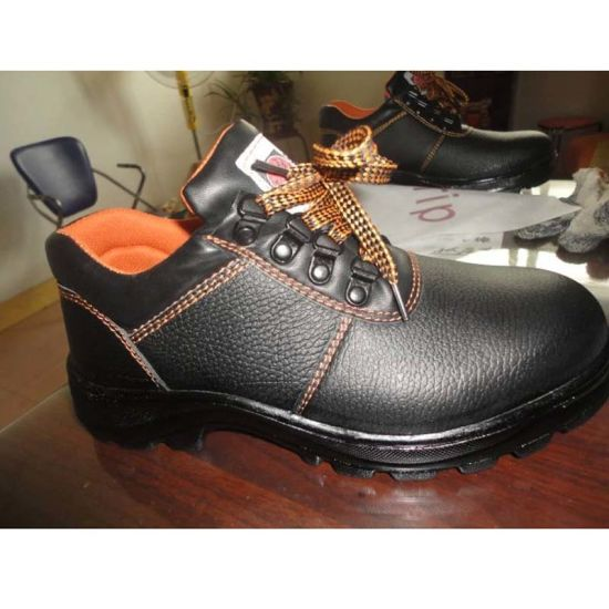 China New Working Security Professional PULeather Outsole