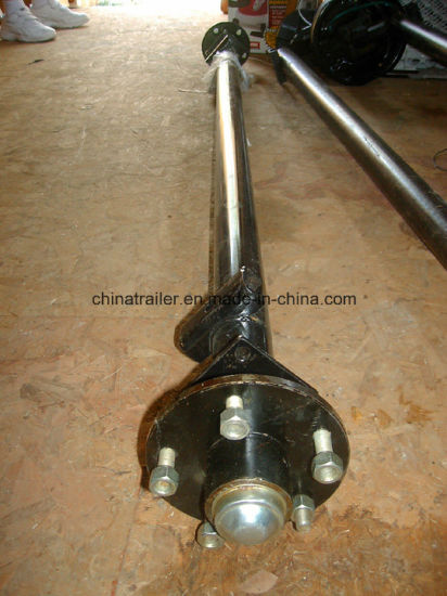 Hot Sale Trailer Axle and Hub pictures & photos