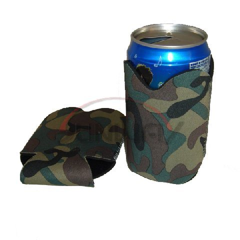 Promotional Collapsible Neoprene Stubby Cooler, Camo Can Holder (BC0040) pictures & photos