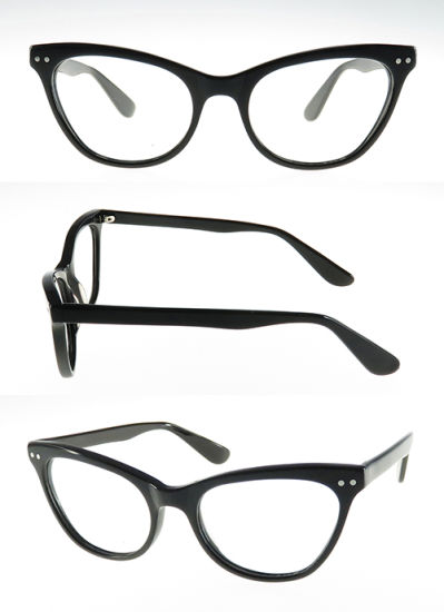 2016 High Quality Acetate Frame for Woman with Metal Decoration