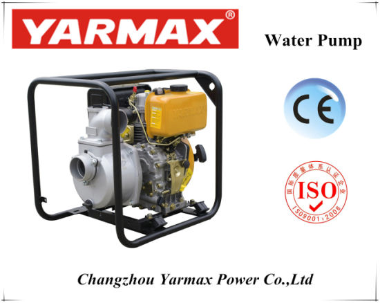 Air Cooled Diesel High Pressure Water Pump at Best Price pictures & photos
