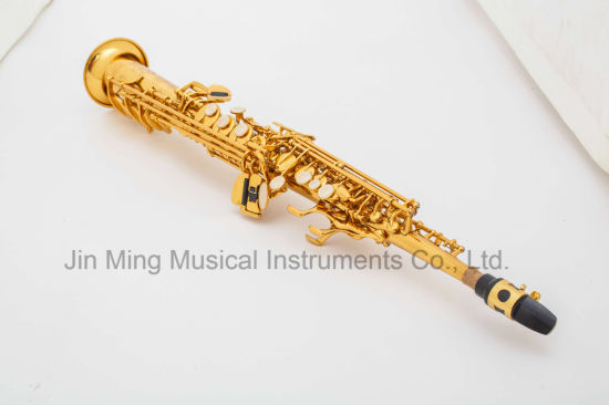 Good Straight Soprano Saxophone Reference Yanagisawa pictures & photos