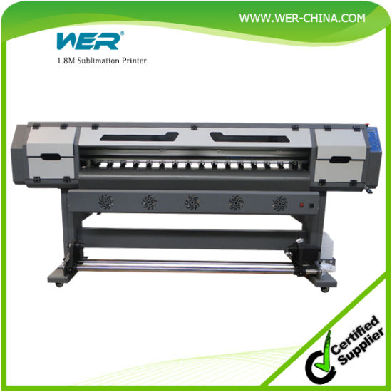 Quality 1.8m with Two Epson Dx5 Head Sublimation Printer