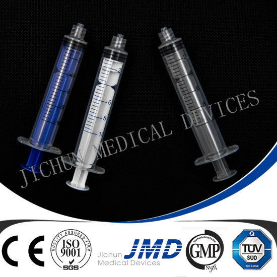 3 Part Disposable Plastic Luer Lock Syringe Without Needles pictures & photos