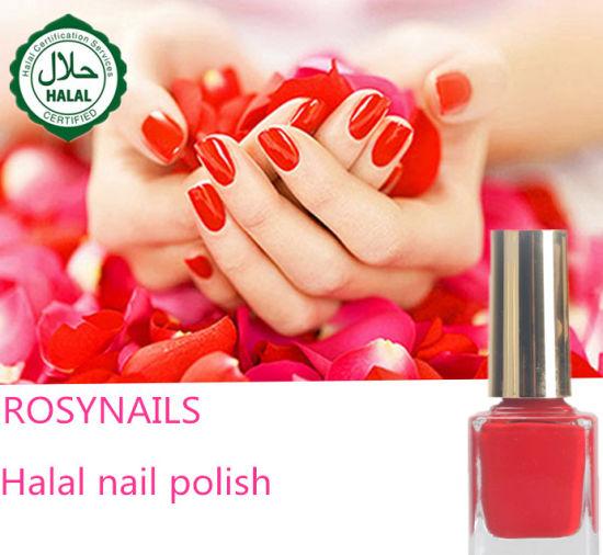 High Quality Nail Arts Painting Water Based Halal Polish