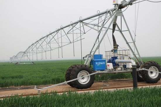 Four Wheels Lateral Move Irrigation System Machine pictures & photos