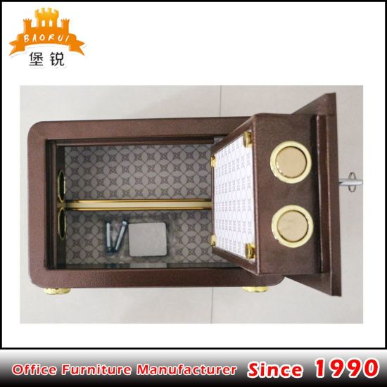 Fas-B1 Excellent Electronic Steel Safe Manual Safety Deposit Money Box Locker pictures & photos