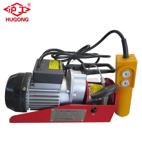 Made in China Wire Rope Pulling Hoist Mini Hoist - China Home Small ...