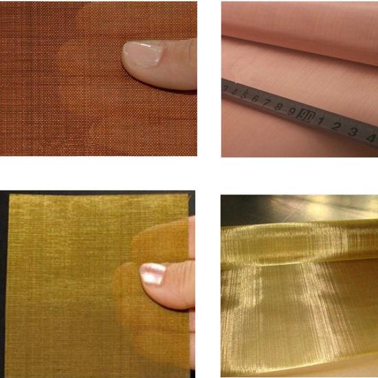 China 4X6 Inch Sheet 20 30 60 Mesh Copper or Brass Mesh Sheets ...