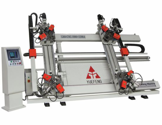 Aluminum Window Frame CNC Four Corner Crimping Machine