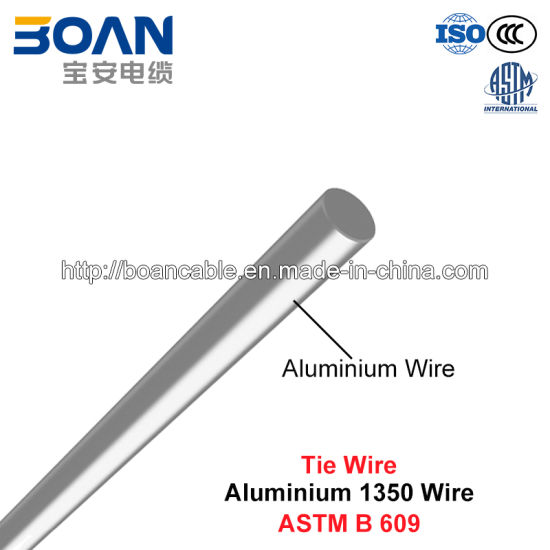 Tie Wire Solid Aluminum 1350 Wire Astm B 609 Pictures P Os