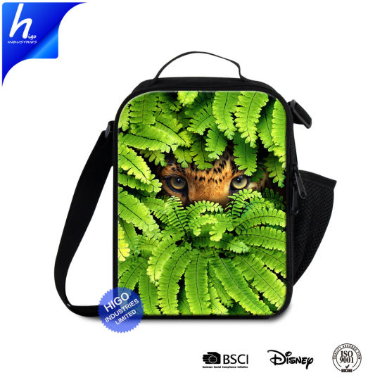 China Canvas Lunch Bag with Outside Pockets Cheap Cooler