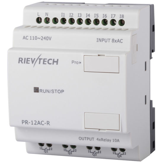 Factory Price Programmable Logic Controller PLC (Programmable Relay PR-12AC-R-CAP) pictures & photos
