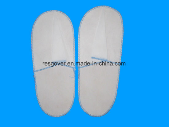 87475f6b54b China for One Tine Use PP Non-Woven Disposable Slipper - China ...