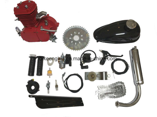 Red Painting 2 Stroke 80cc Bike Kit/ F80 Kit pictures & photos