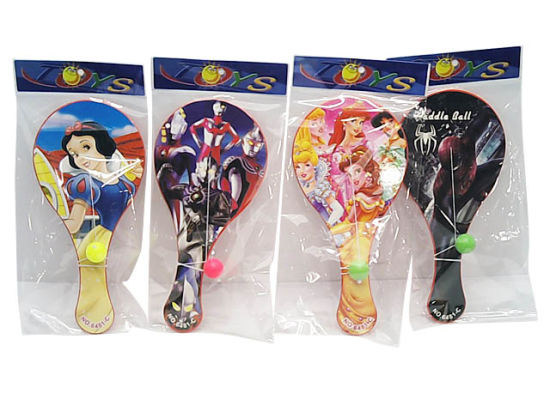 Plastic Mini Paddleball Game Promotional Toy pictures & photos