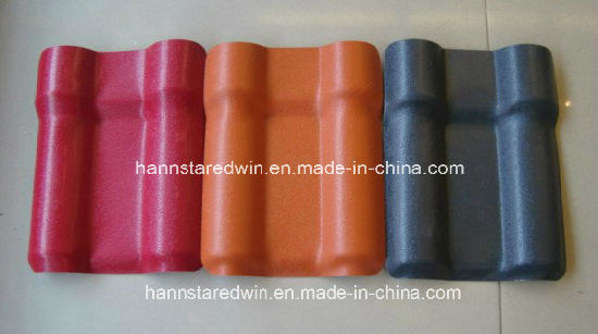 Hot-Selling 3mm Color Economic Roofing Tile Material for Villa Asa Synthetic Resin Roof Tile