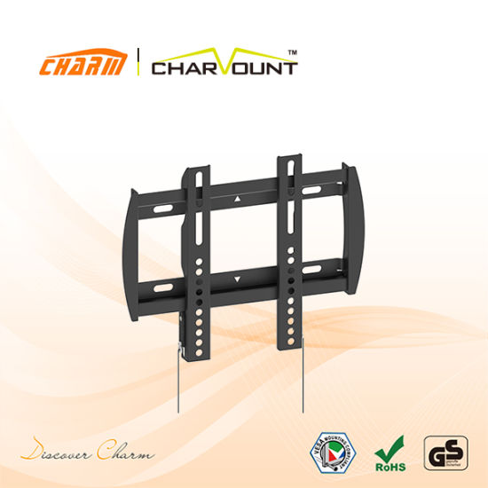 China Heavy Duty Knocked Down Frame Low Profile TV Wall Mounts (CT ...