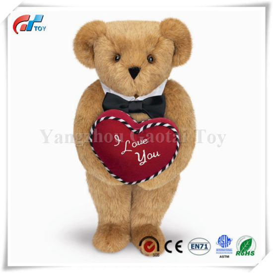 15 Inches Romantic at Heart Classic Bear Teddy Bear