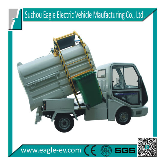 Electric Garbage Collecting Vehicle, for Garbage Barrel Collecting, Ce Approved, 72V 5kw