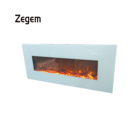 China 50 Inch Best Price Indoor Stone Fireplace And Wooden Electric