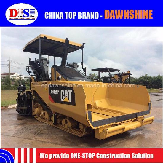 16 Tons Cat Ap655f Rubber Track Asphalt Paver Block Machine Price in India
