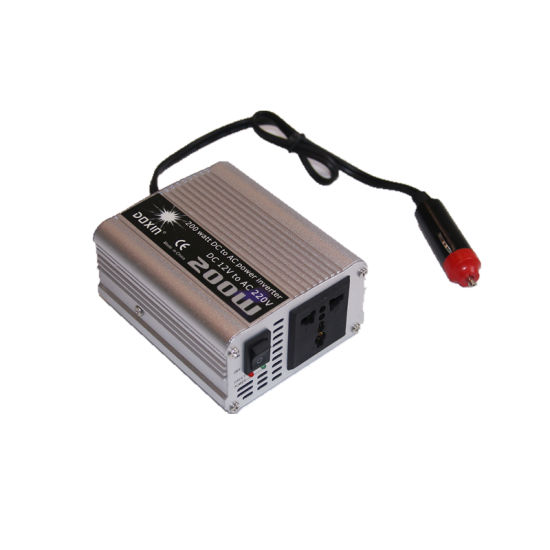 Power Inverter Large Shell 600w 1200w Max Ac 12v To Dc 240v With Car Plug Cable To Adopt Advanced Technology