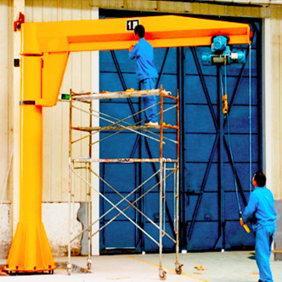 High Quality Rotary Luffing Slewing Jib Crane pictures & photos