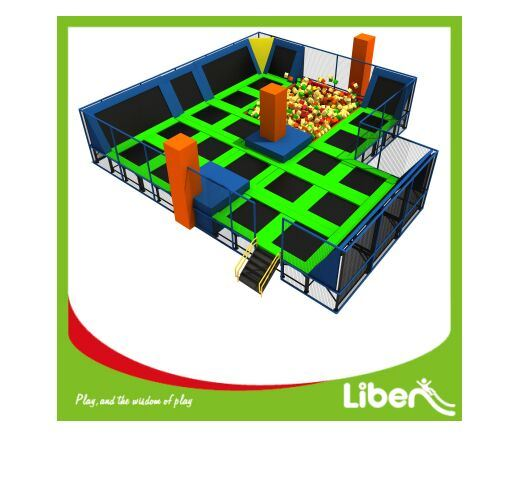 Commercial Funny Multifunction Indoor Trampoline Park with Many Games pictures & photos