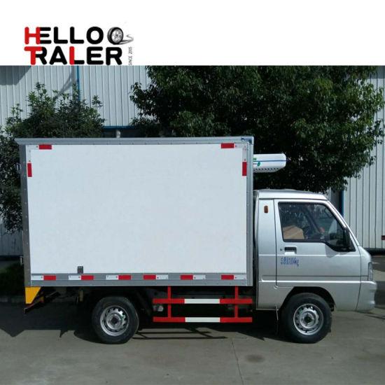 4c8ed80029 China Sinotruk Cdw 1 Ton Mini Cooler Van Truck - China Cooler Truck ...