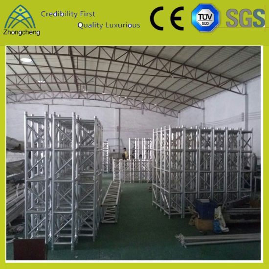 Performance Aluminum Alloy Spigot Lighting Stage Event Roof Truss