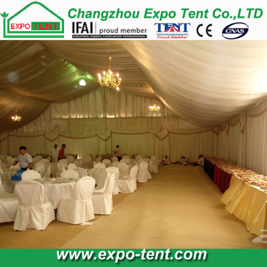 Aluminum High Peak Luxury Party Marquee Tent pictures & photos