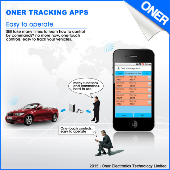 SMS APP Tracking Software of Smart Phone, Get Location with Google Map Link pictures & photos