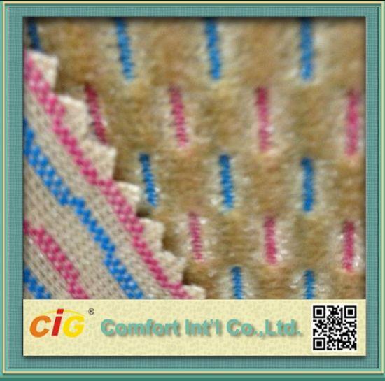 China Yarn Dyed Pattern And Knitted Technics Auto Car Seat Fabric