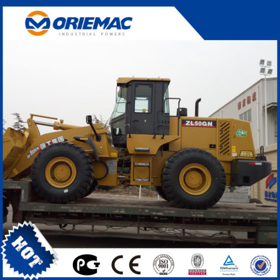 Sudan 3m3 Bucket XCMG 5 Tons Front Wheel Loader Zl50gn pictures & photos