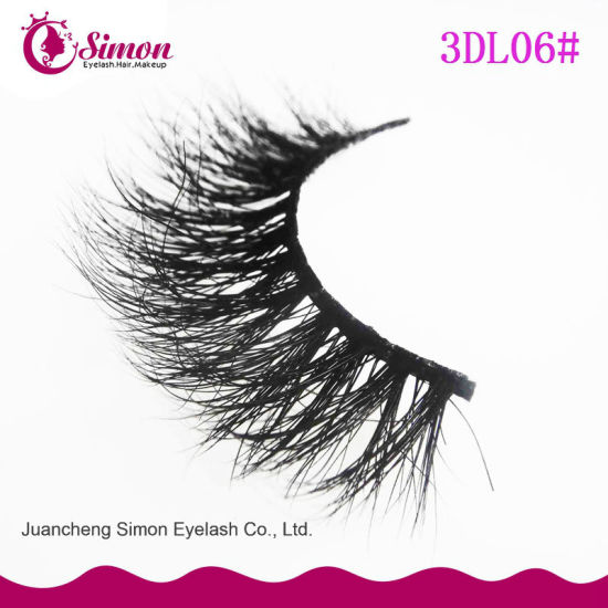 Newest Round Box 3D Mink Eyelash with Private Label pictures & photos